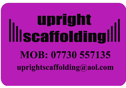 Upright Scaffolding Website Design