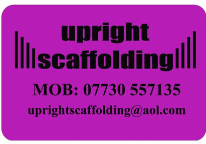 Upright Scaffolding Website Design